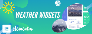 Weather Widgets Addons for Elementor Featured Image