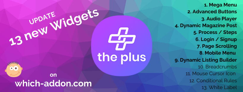 Update on which-addon.com The Plus Addons