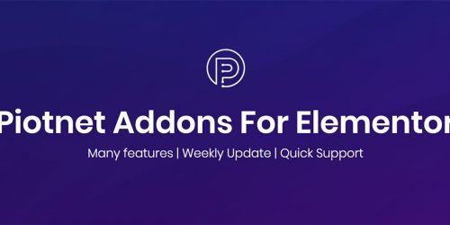 Introducing Piotnet Addons For Elementor - Featured Image